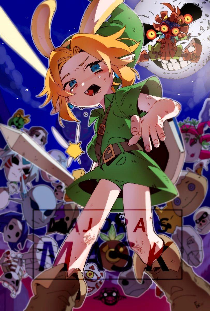 Link 1914107 Legend Of Zelda Legend Of Zelda Breath Anime