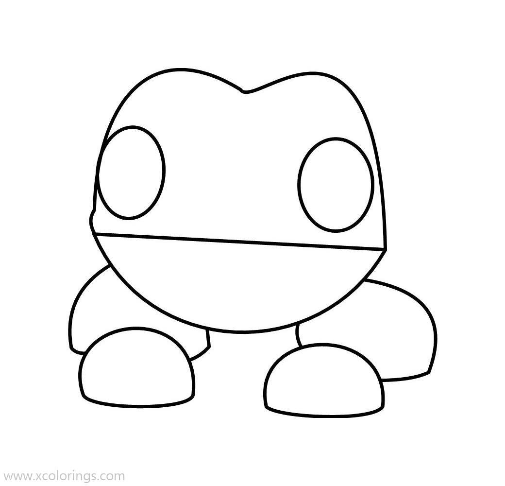 Roblox Adopt Me Coloring Pages Frog Pets Drawing Frog Coloring Pages Wallpaper Iphone Disney Princess
