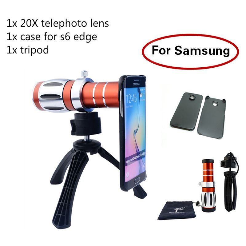 Newest Camera Lenses 20x Zoom Telephoto Telescope Lens Kit