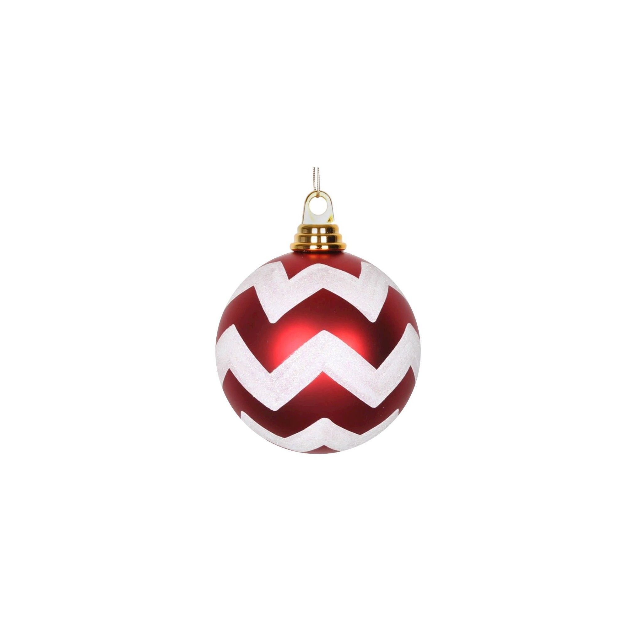 Red And White Christmas Ornaments Sets