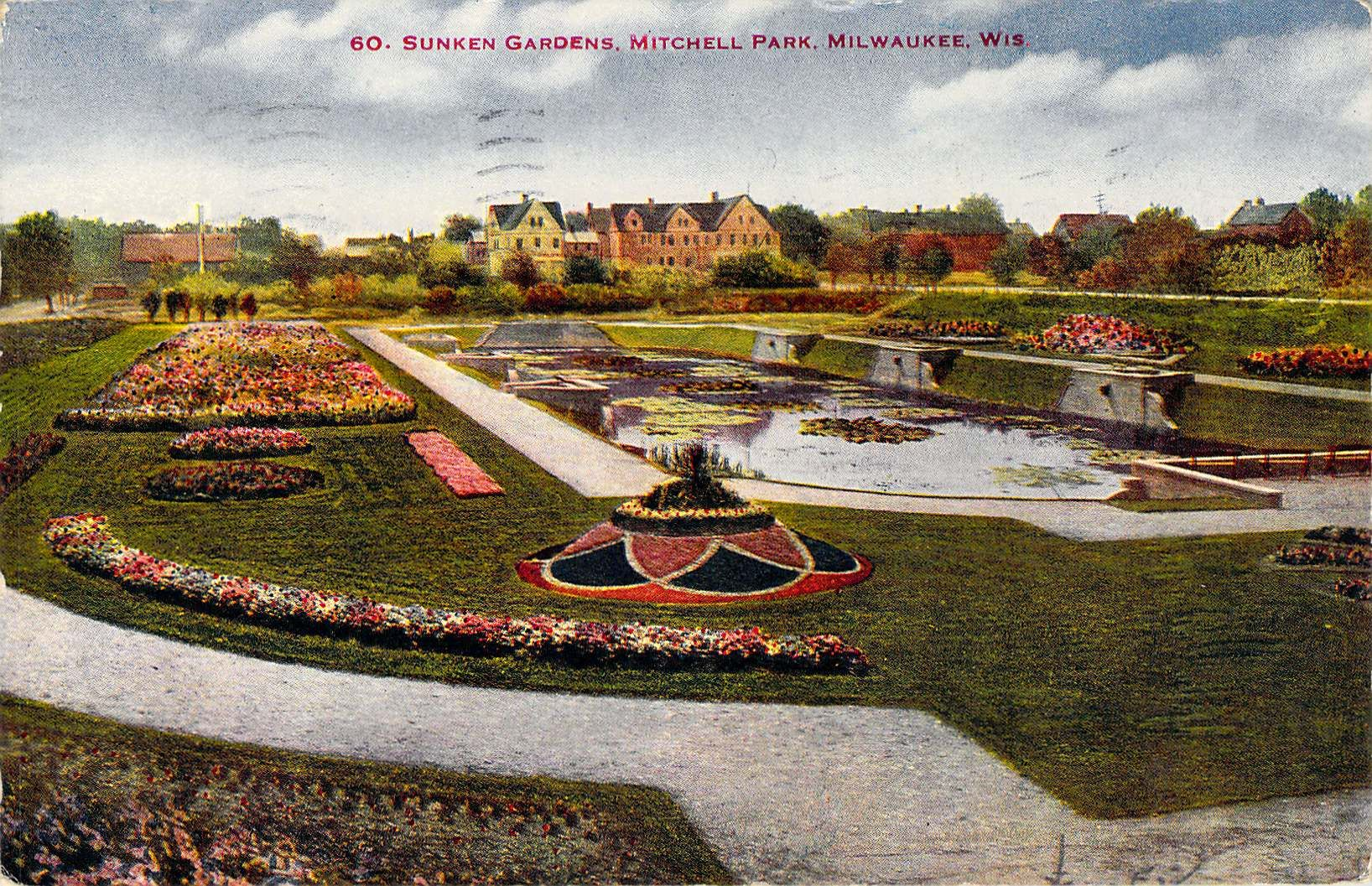 Sunken Gardens Washington Park Milwaukee, WI   Milwaukee Vintage ...