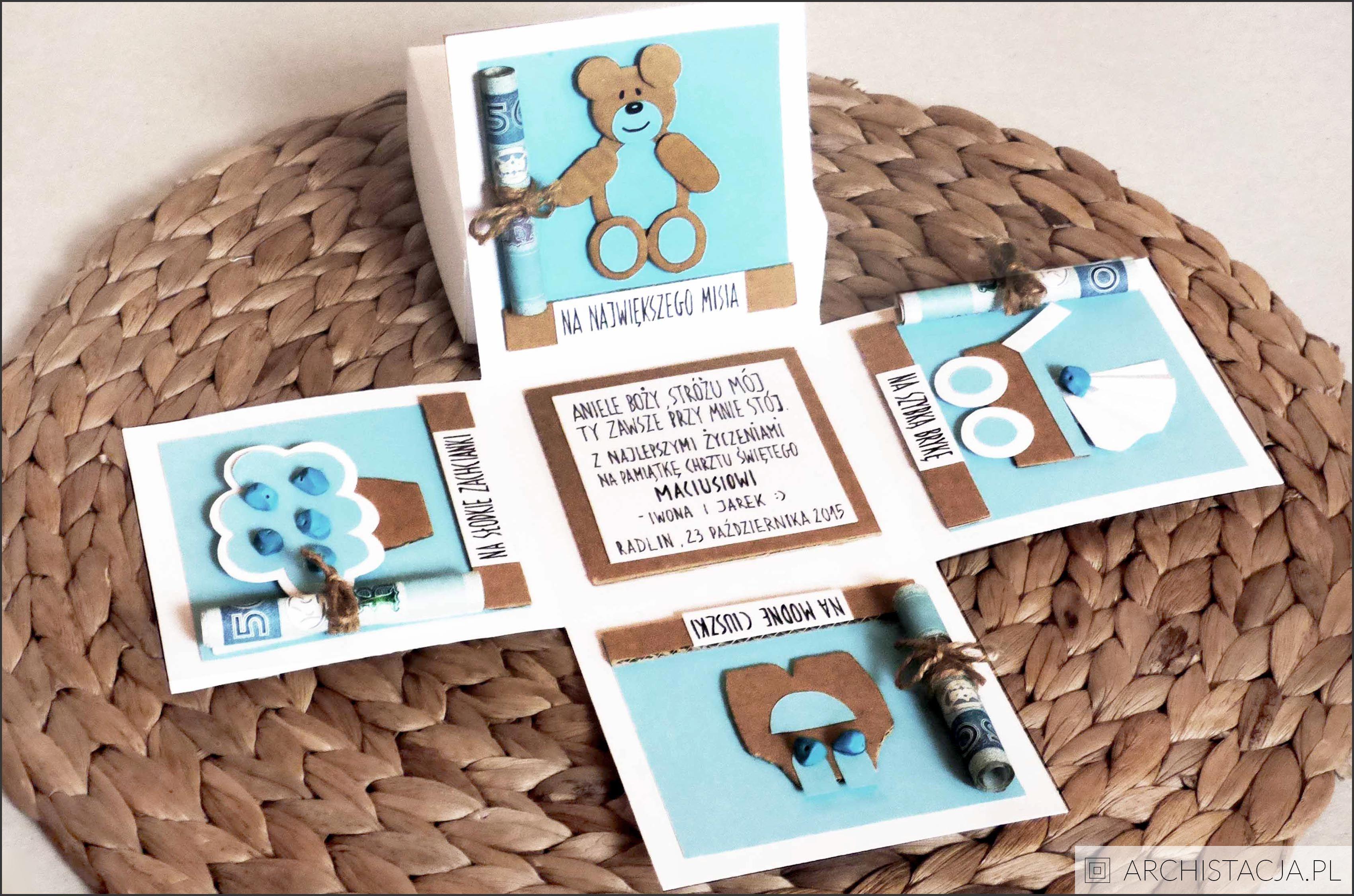 Schemat Kartki Pudelko Diy And Crafts Crafts Diy Projects