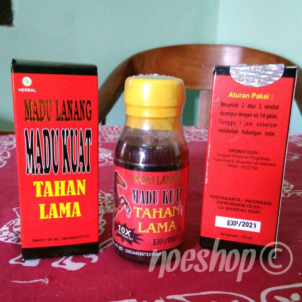 Madu Lanang Kuat Khaifah Tahan Lama Perkasa 10x Lipat Health Original Super Care Salud