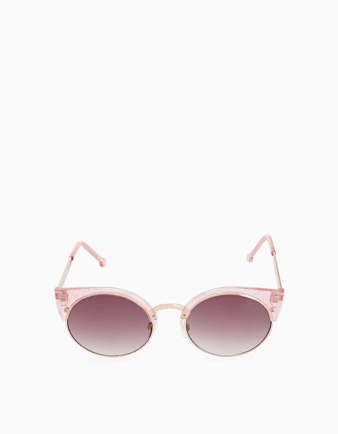 c36ecfef0c3f2 Cat s eye sunglasses with pink frames - Sunglasses