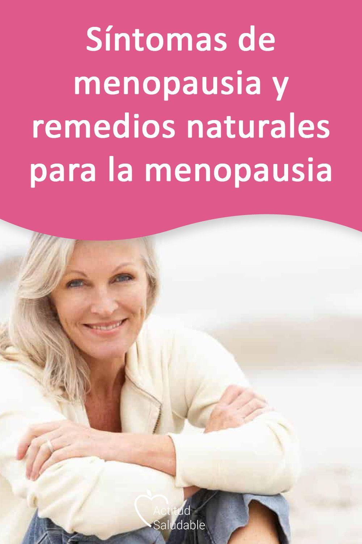 remedios naturales para la menopausia sintomas