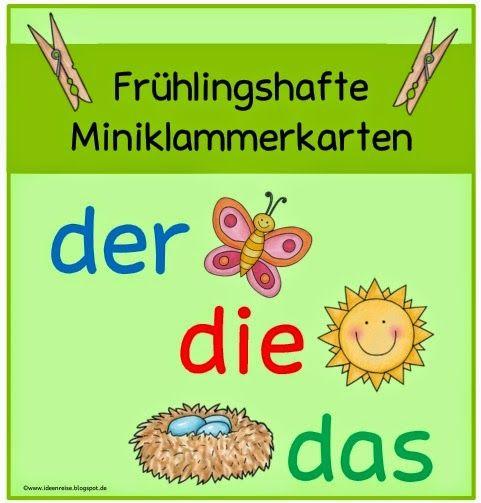 Blog     Frühlingshafte Miniklammerkarten