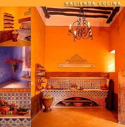 Hacienda ladylind hacienda mexico style pinterest for Decoracion colonial mexicana