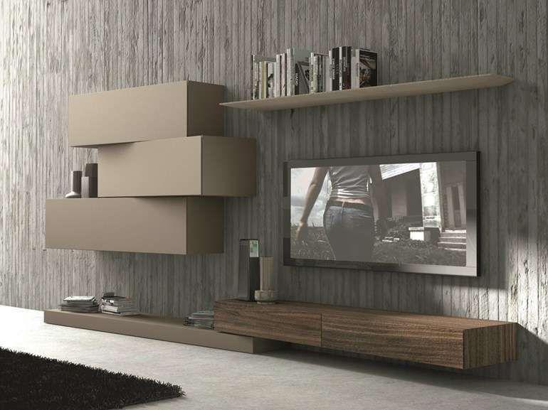 Pareti attrezzate per il soggiorno nel 2019 pareti for Presotto parete attrezzata