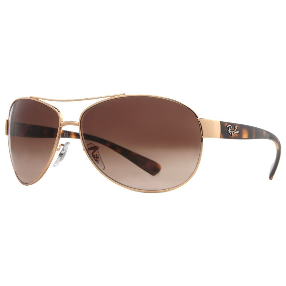 167c57f63a Ray-Ban RB3386 001 13  Tortoise Frame Brown Gradient 63mm Lens ...