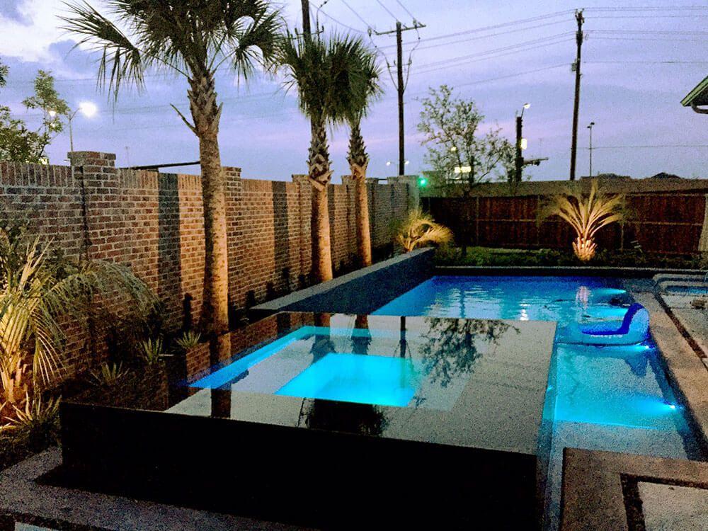 Rockwall Pool Design Dallas Photo Gallery Outdoor