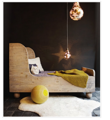 Bed and star light!