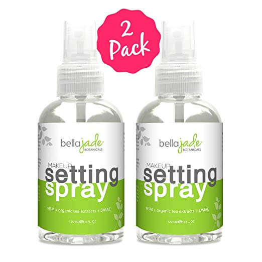 Better For Your Skin Than No Foundation Created With 4: Bella Jadi Makeup Setting Spray Products Online That Will