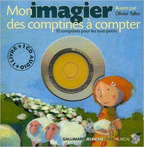 Amazon Fr Mon Imagier Des Comptines A Compter 1cd Audio