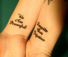 Quote Tattoo Friend Tattoos Tattoo Quotes Tattoos
