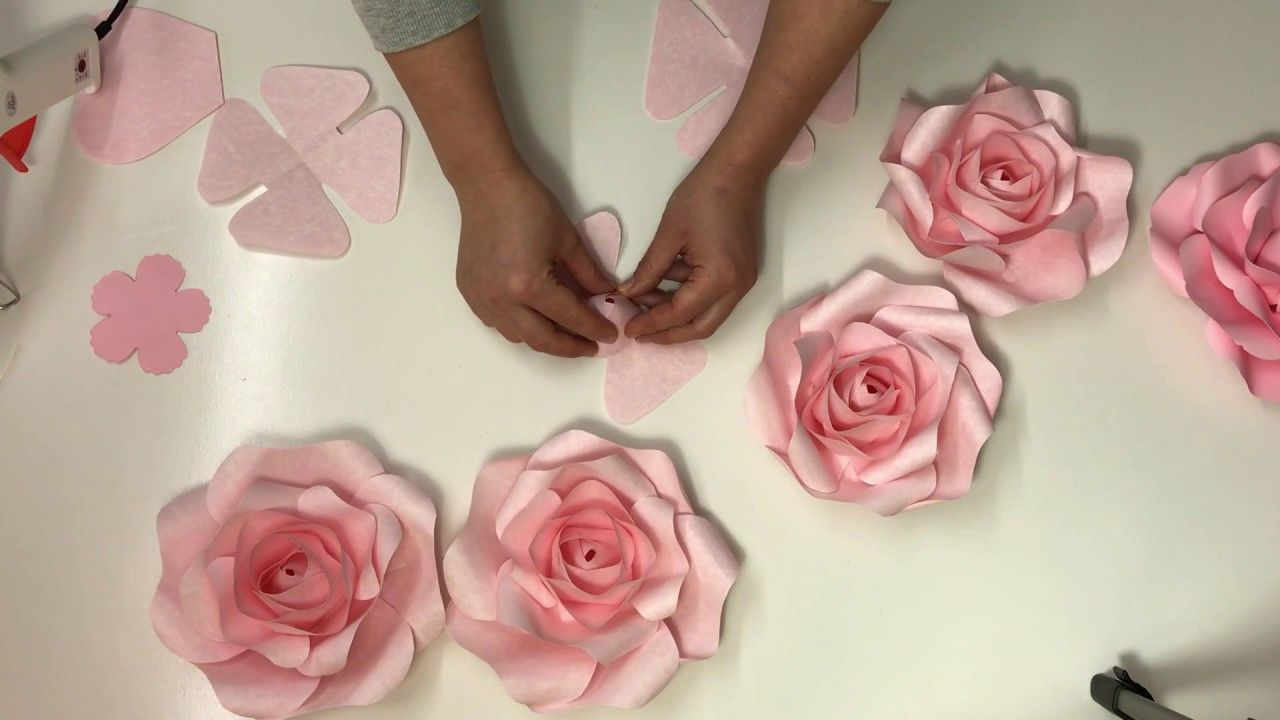 Pin On Paper Flowers Display Backdrops Walls Windows