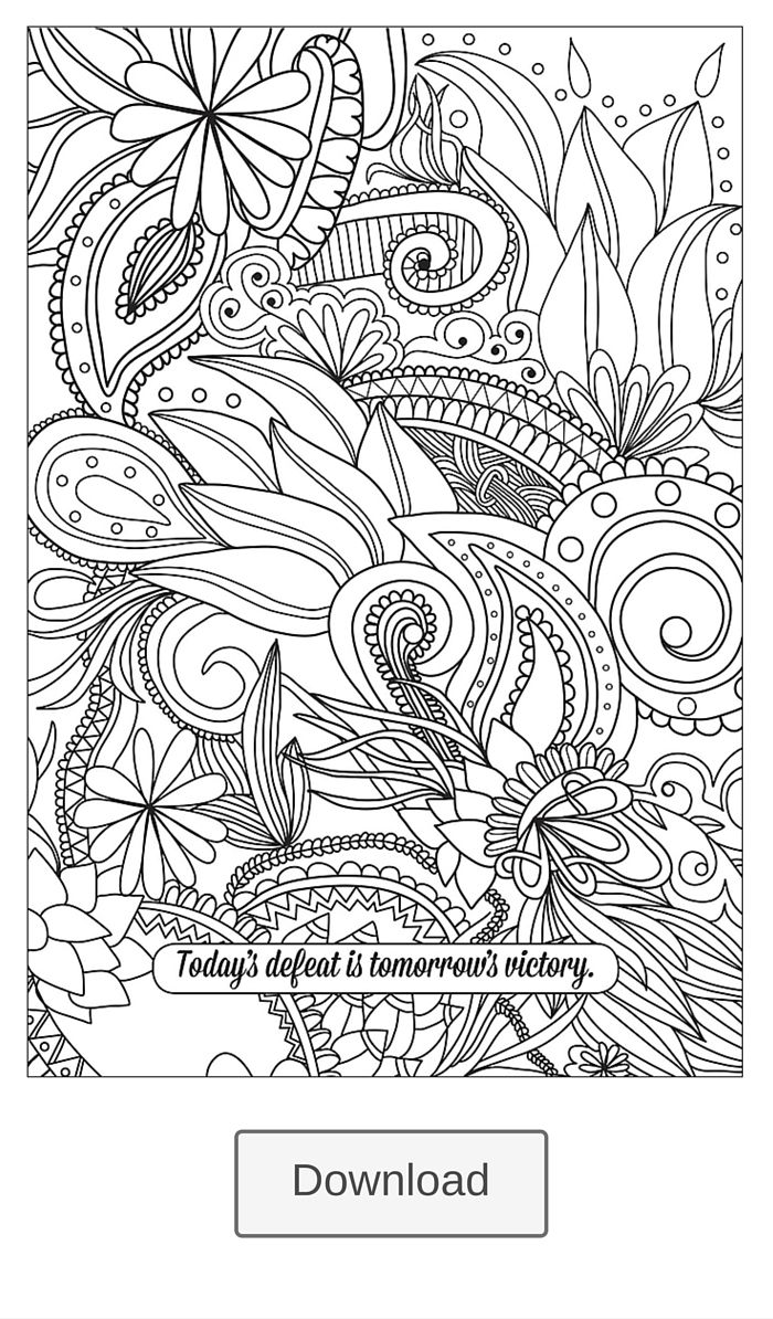 download this coloring page from color yourself happy postcards