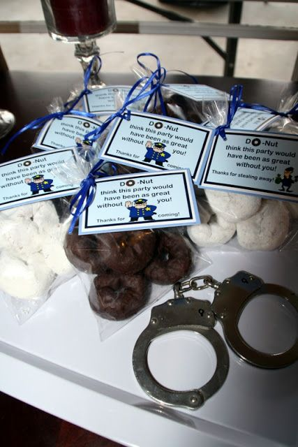Cops Amp Robbers Party Favor Party Ideas Police