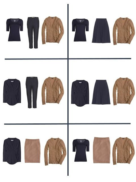 Packing with Four by Four: Navy, Tan and Coral | The Vivienne Files