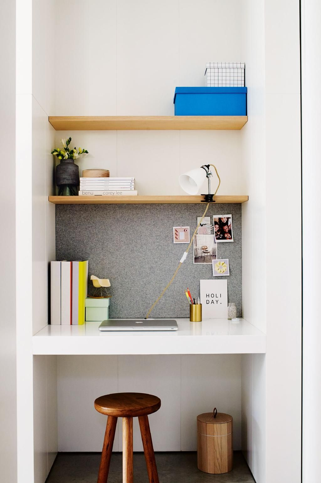 creative ways to carve out enough space to work from home home rh pinterest com