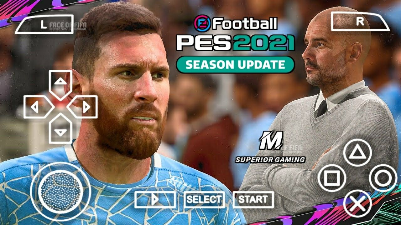 PES 2021 PPSSPP Download Mediafire Terbaru Android Offline ...