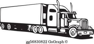18 Wheeler Clipart Google Search Clip Art Clip Art Pictures Mountain Silhouette