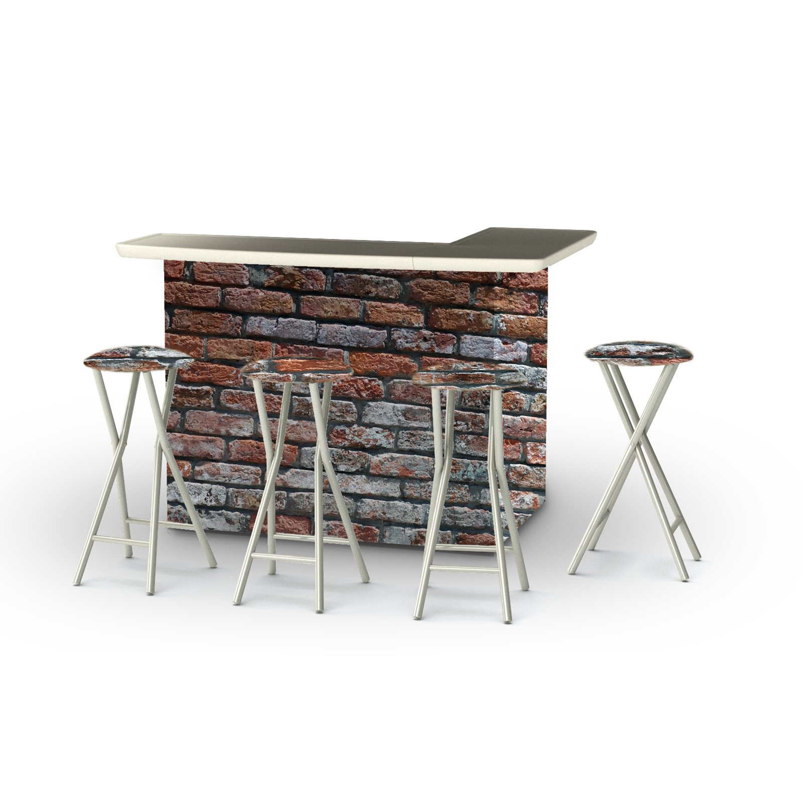 Fantastic Best Of Times 5 Piece Portable Outdoor Bar Set Products In Beutiful Home Inspiration Aditmahrainfo