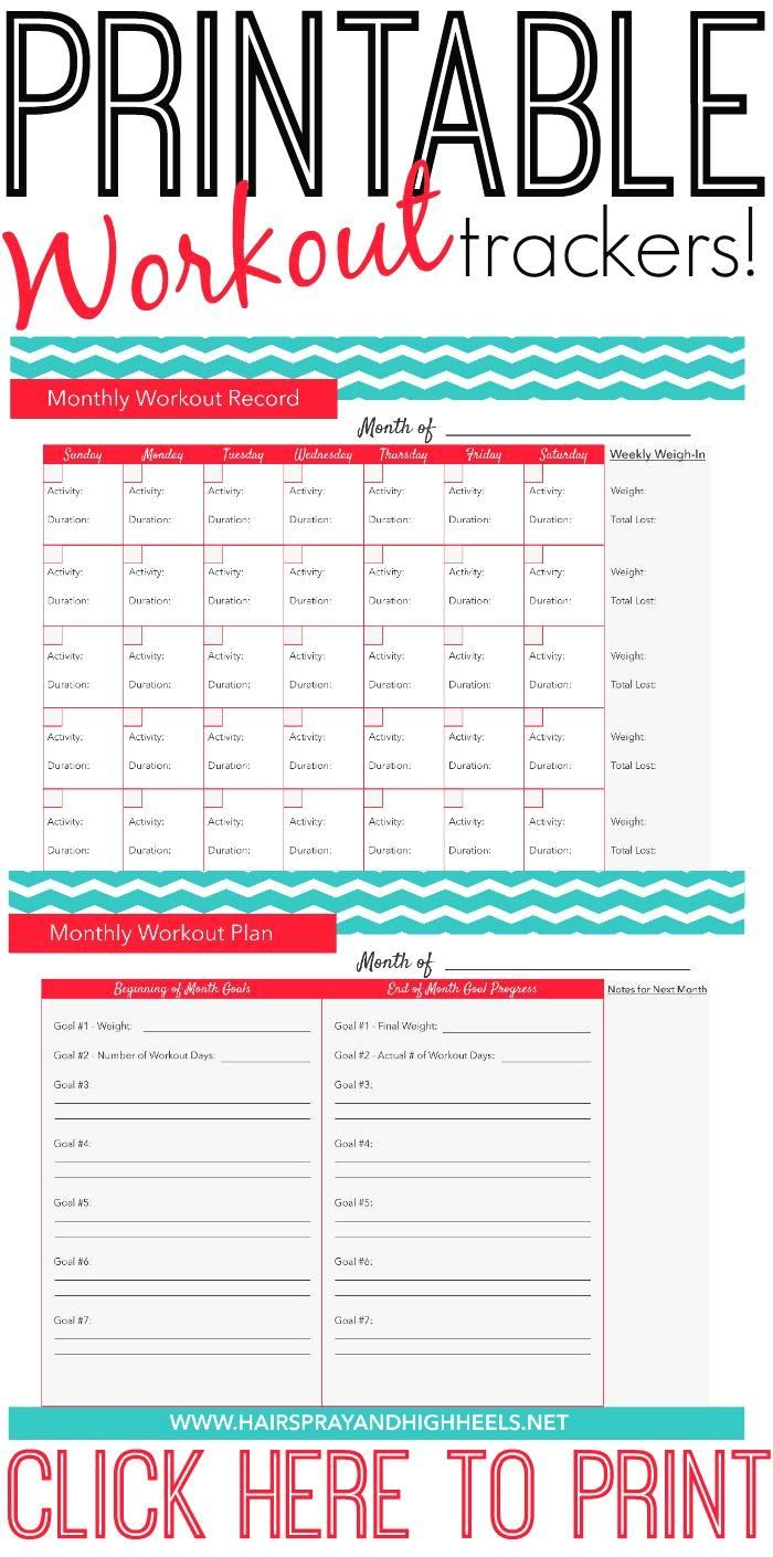 A fitness calendar i  A fitness calendar is a great way to stay on track with your workout goals!