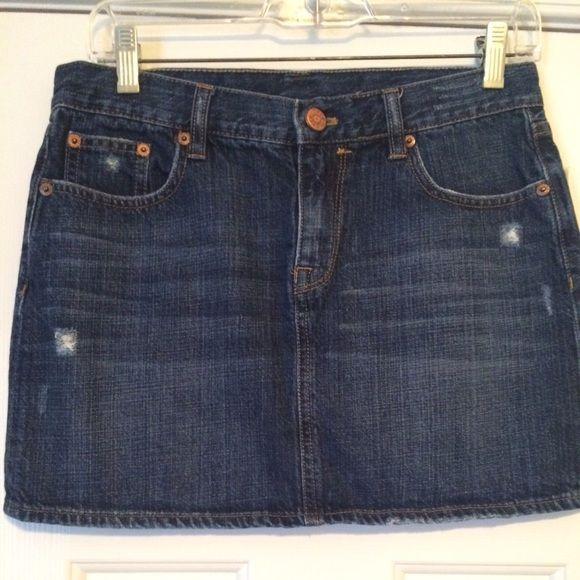 JCrew Jean Skirt JCrew Jean Mini Skirt. Excellent Condition. J. Crew Skirts