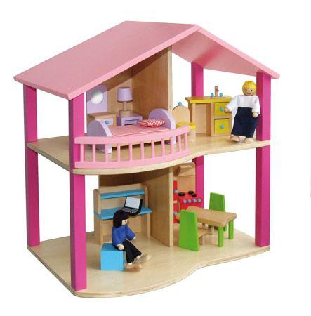 Plano De Casa De Muñeca Cómo Hacer Una Linda Casa De Muñecas Doll House Wooden Dollhouse Dollhouse Kits