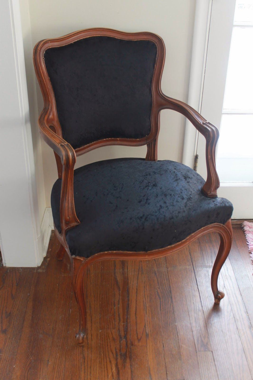 Sherwood Drive: DIY: Louis XV Chair Makeover   Reupholstered ...