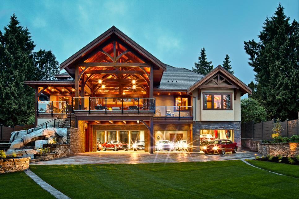 This home incorporates many unique design elements