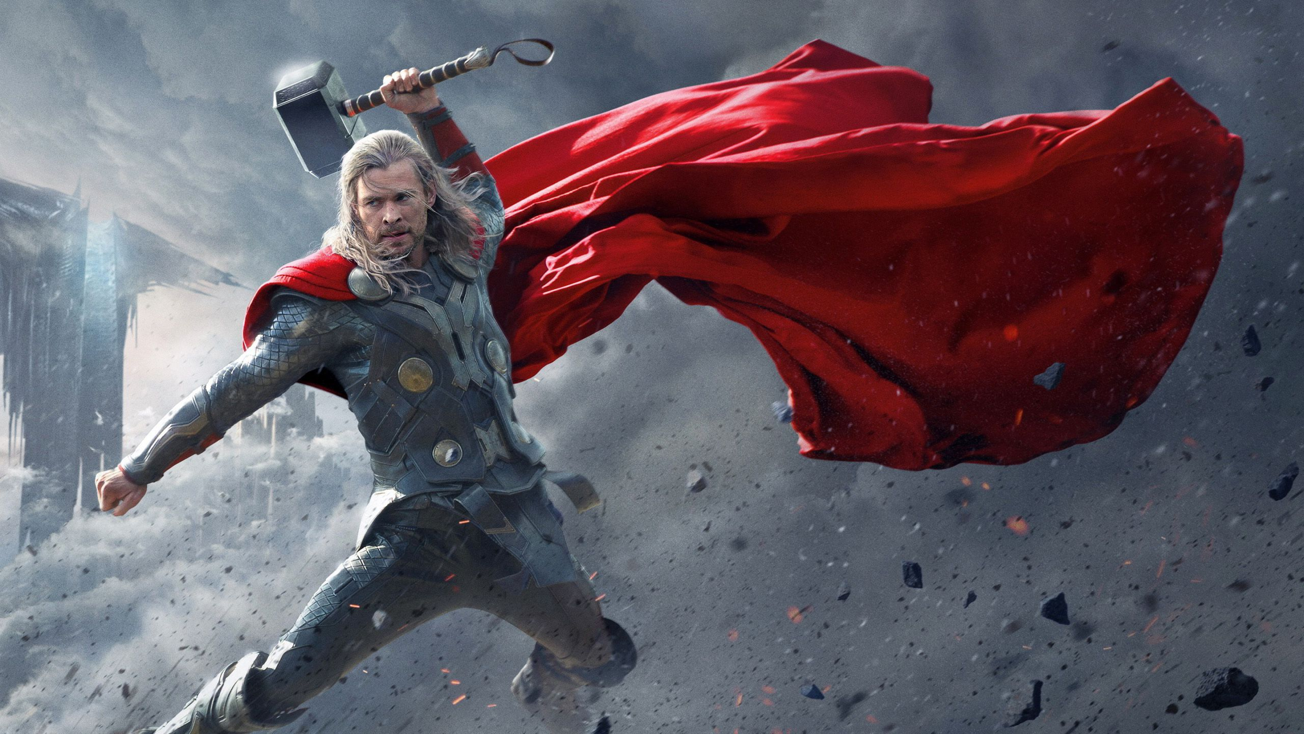 Chris Hemsworth In Thor HD Wallpapers 2560x1440 Thor in