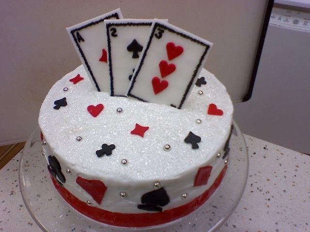 Deck Of Cards Cake My Work Cake Birthday Cake Cake