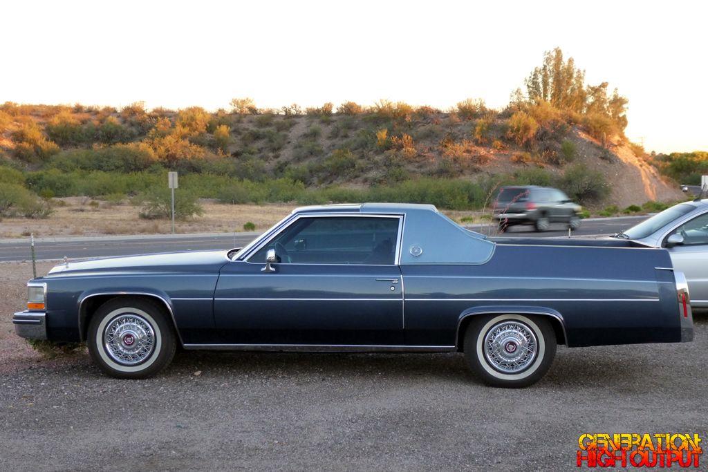 1984 Cadillac Coupe Deville Flower Car El Camino Genho Insane