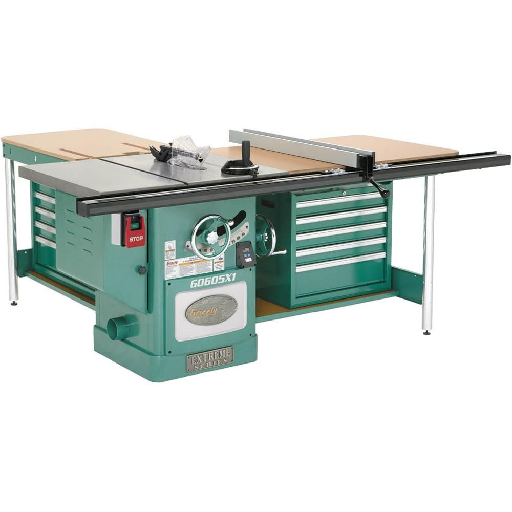 12 5 hp 220v extreme table saw in 2019 saw tables woodworking rh pinterest com