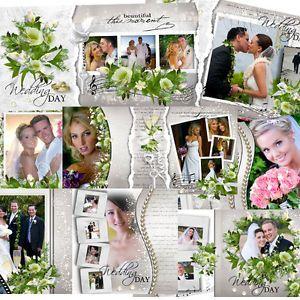 psd photoshop templates wedding frame templates wedding