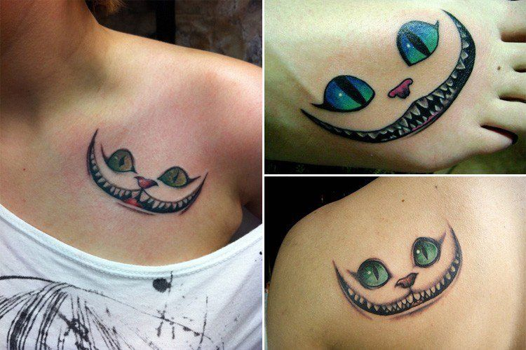 Cat Smile Tattoo Related Keywords Suggestions Cheshire Cat Smile Cheshire Cat Smile Smile Tattoo Cool Wrist Tattoos
