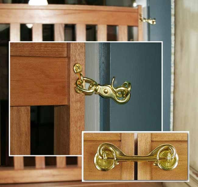 Here Is A Comparison Of Our Standard One Panel Latch Versus The
