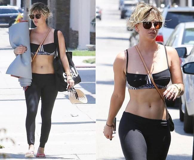 Kaley Cuoco Sweeting 2015 Workout Routine And Diet Secrets Healthy Celeb Kaley Cuoco Body Kaley Cuoco Celebs