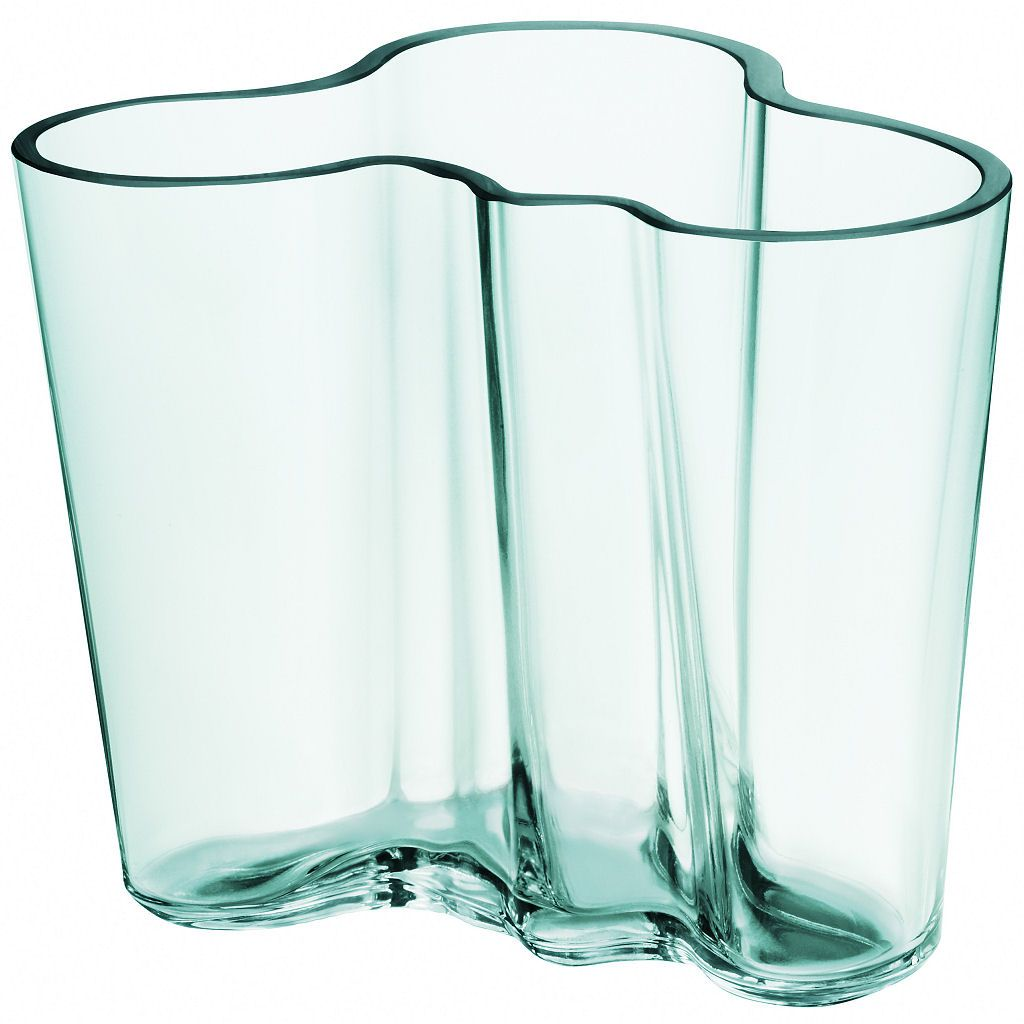 Iittala Vase Water Green By Alvar Aalto Tall Glass