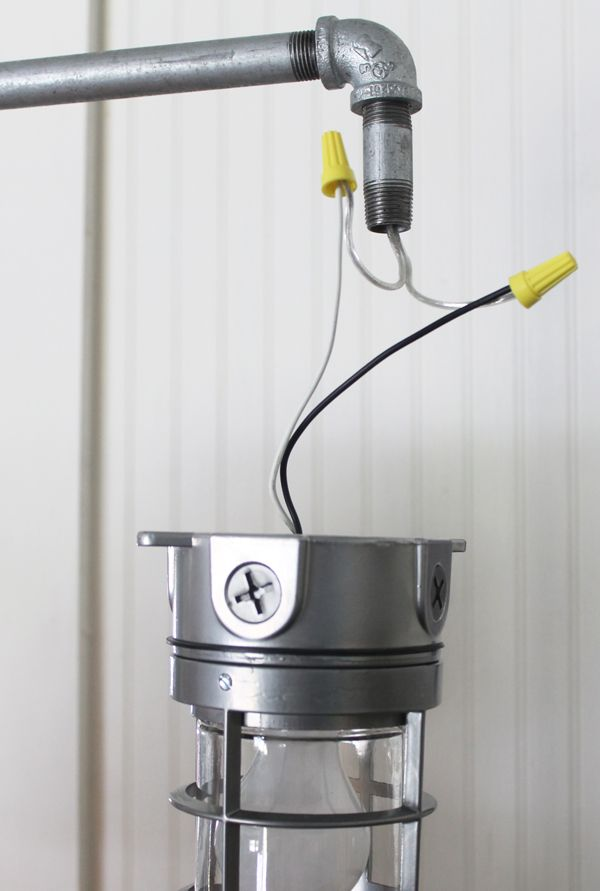 Industrial Floor Lamp Diy