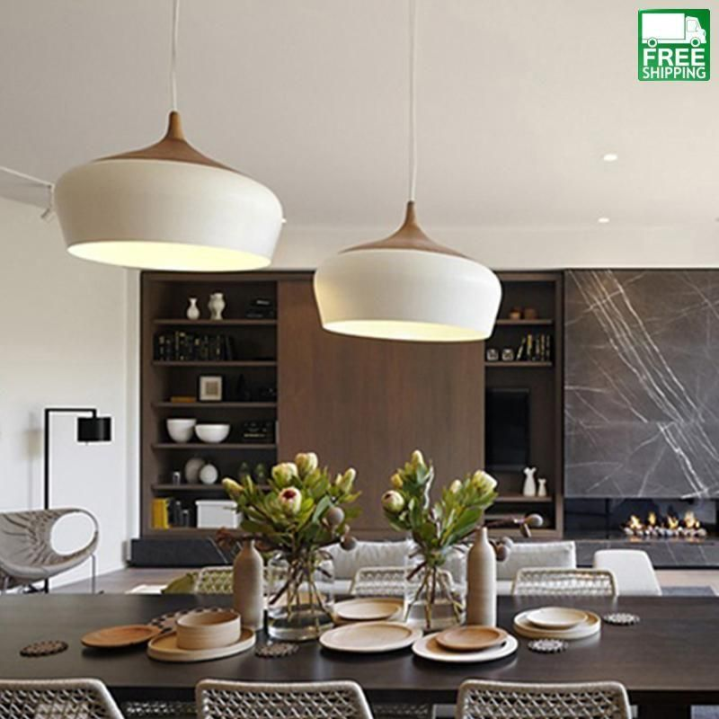 Modern Circle Wood Chandelier Light | Ikea pendant light