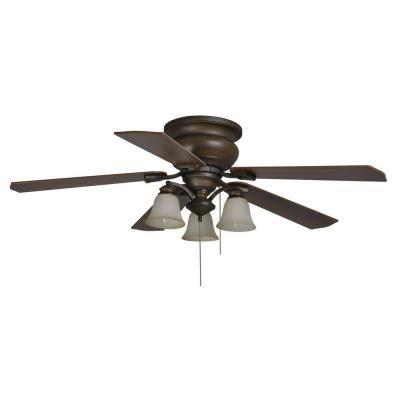 hampton bay eastvale 52 in indoor berre walnut ceiling fan with rh pinterest com