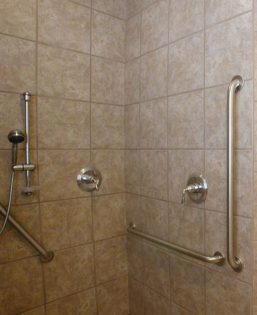 Handicap Grab Bars Types And Placement For Bathroom Safety With