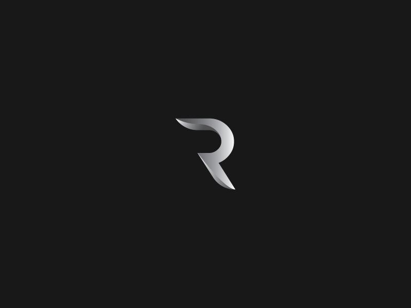Abstract Letter R Logo Bike Logos Design Typographic Logo Design Identity Design Logo