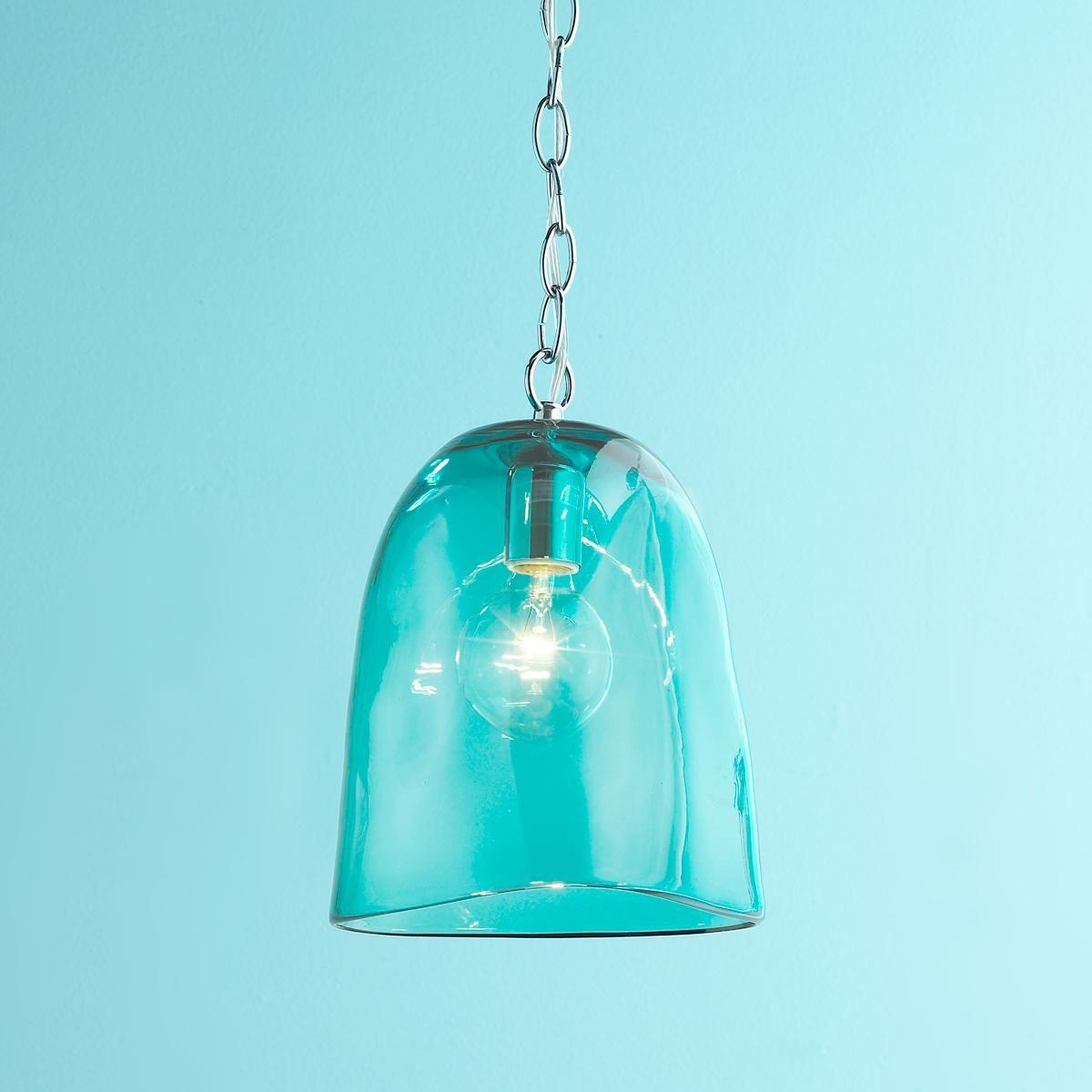turquoise pendant lighting. Triangle Glass Pendant Light $129.00 At Shades Of Turquoise Lighting T