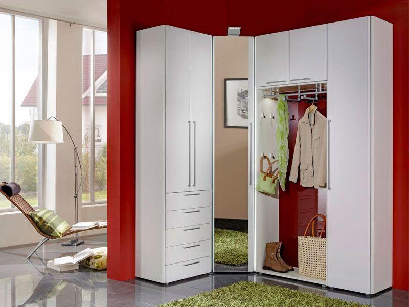 Wittenbreder entree komplette garderobe flur spiegel eckschrank ...
