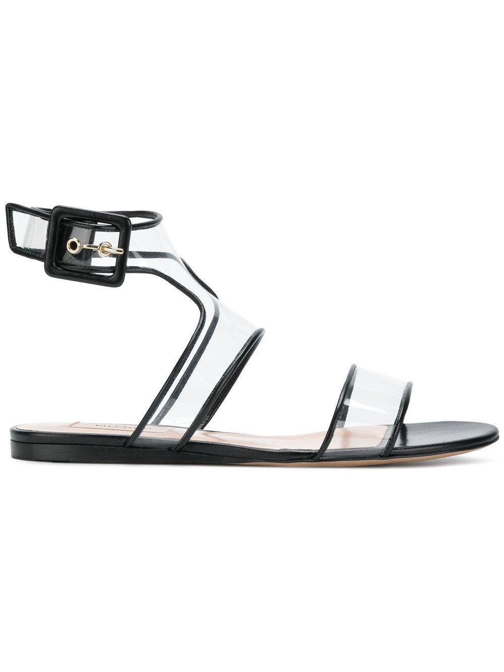 6d50435768df  valentino  shoes   Valentino Flat Sandals