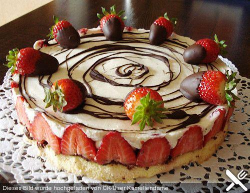 Erdbeer - Mascarpone - Torte | Chefkoch.de
