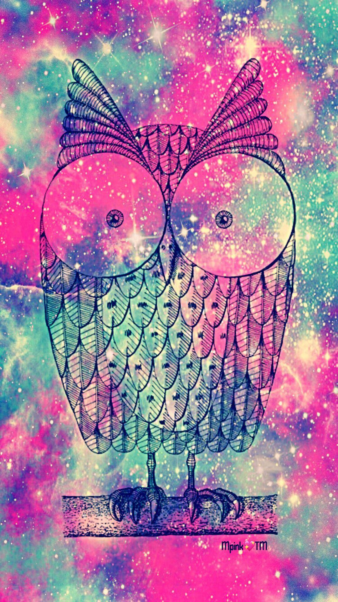 Colorful Owl Wallpaper Mobile Owl Wallpaper Pink Wallpaper Iphone Owl Wallpaper Iphone